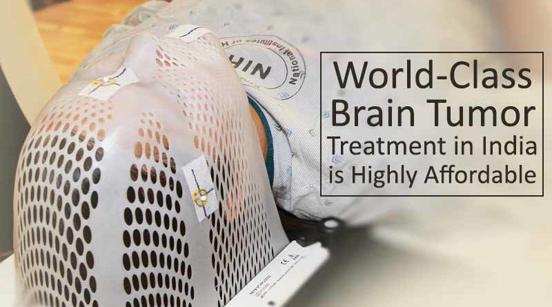 World-Class Brain Tumor Treatment in India is Highly Affordable