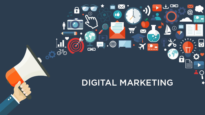 Major segments of digital marketing